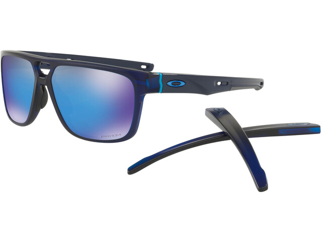 Oakley Crossrange Patch Cykelbriller blå/sort | Glasses